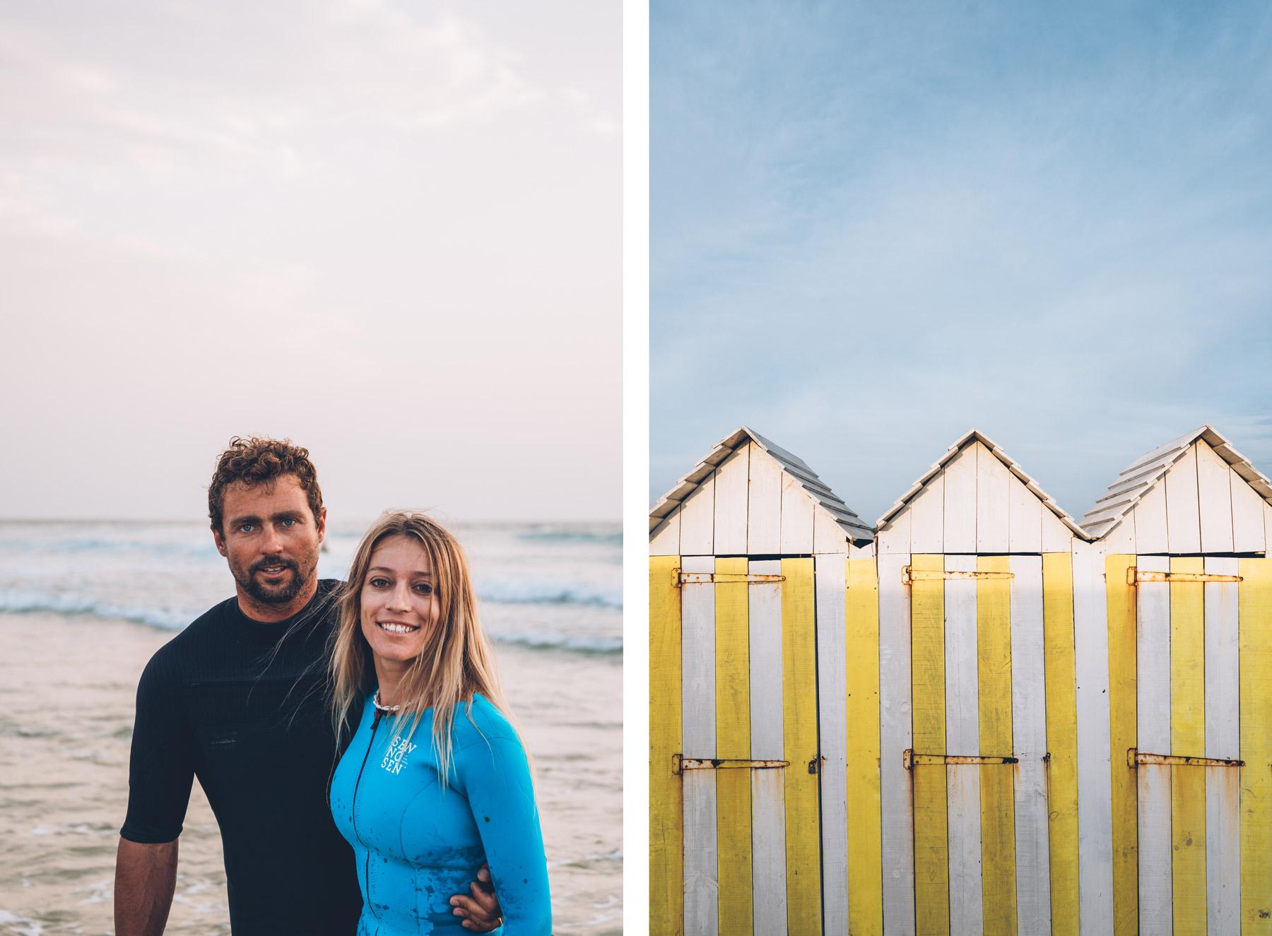 Clément et Dhélia, Biscarrosse