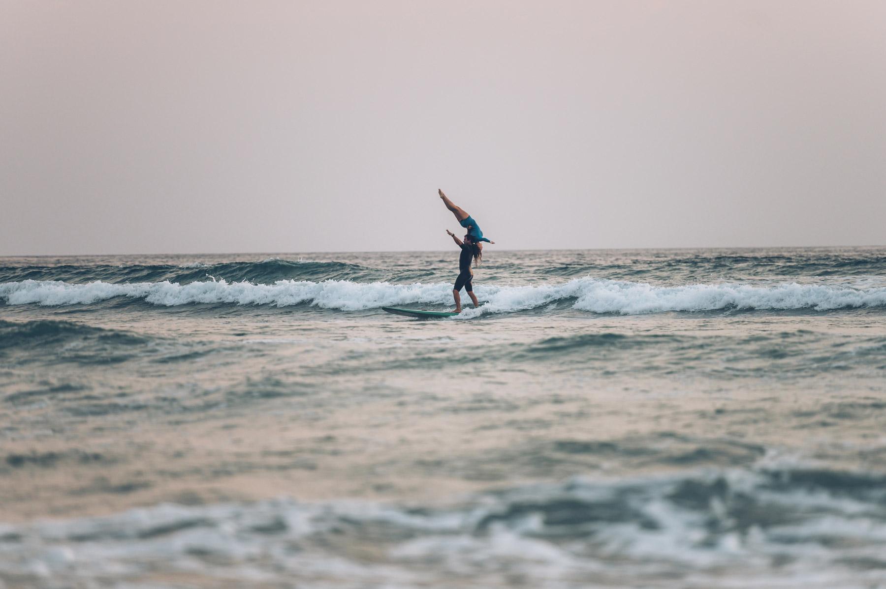 Surf Tandem, Clément et Dhélia, Champion du Monde