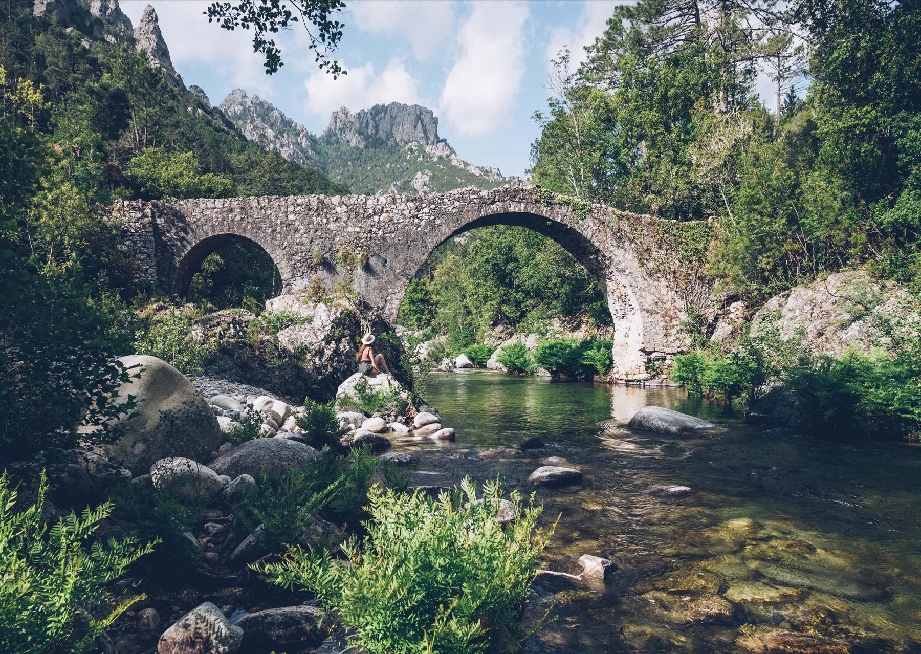 Pont génois près de Ghisoni