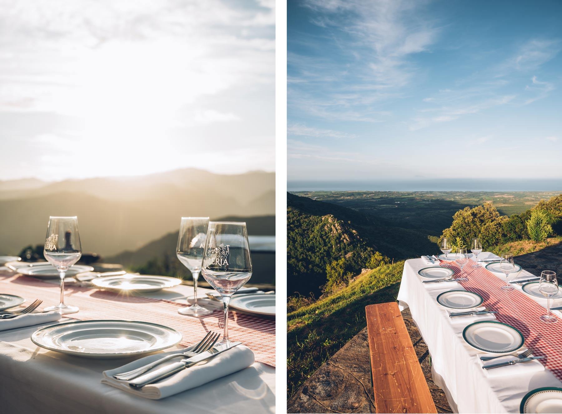 Pique Nique de rêve en Corse