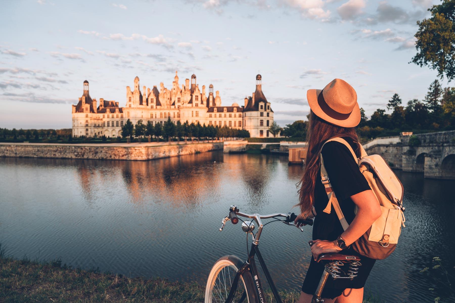 Chambord, vélo