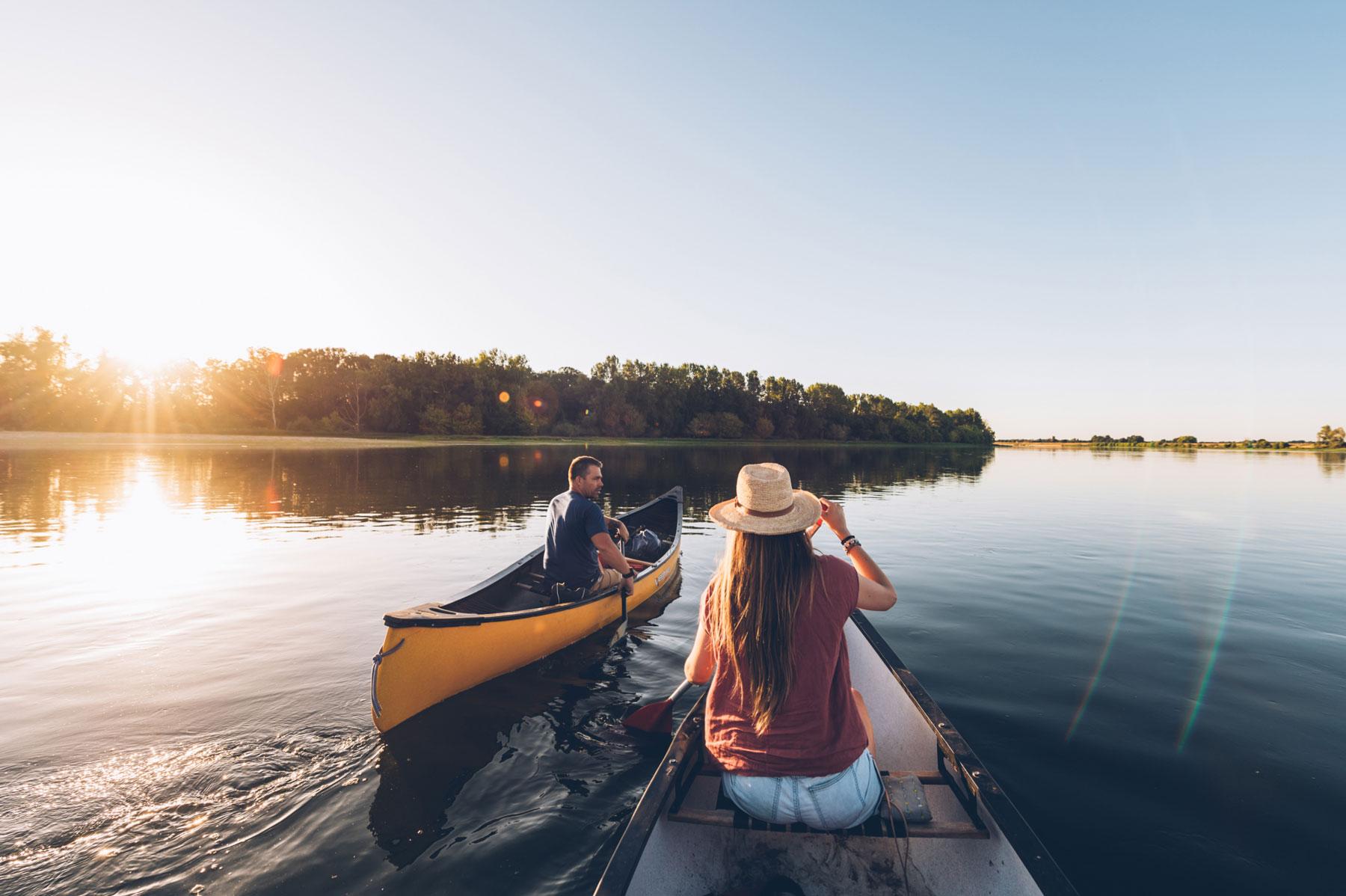 Canoe avec Joris, Destination H2O
