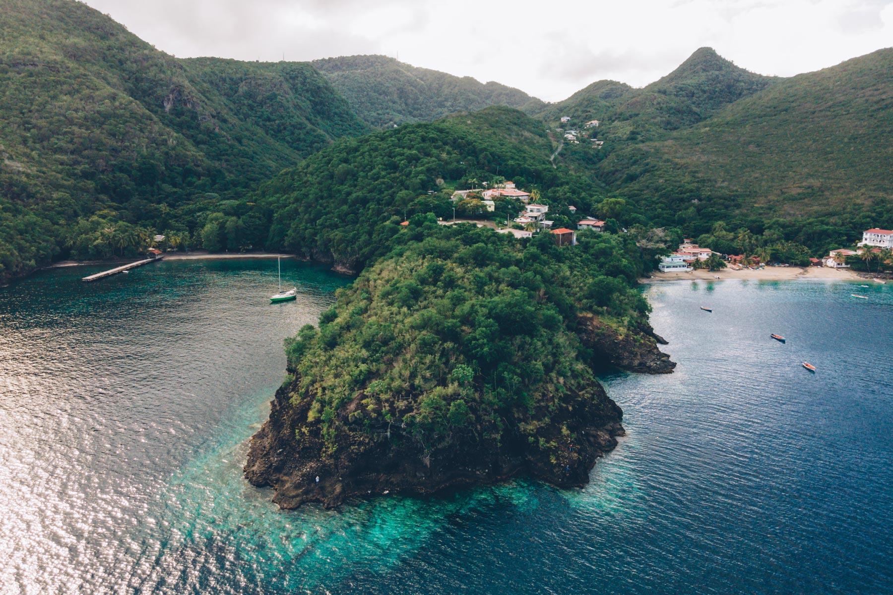Anse Dufour et Anse Noire
