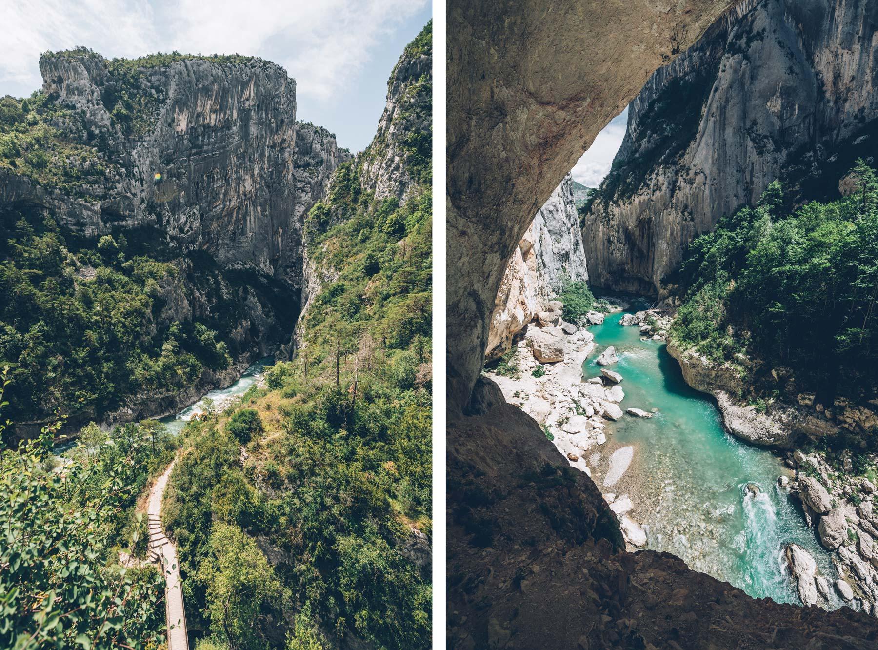 Sentier Blanc Martel, Gorges du Verdon