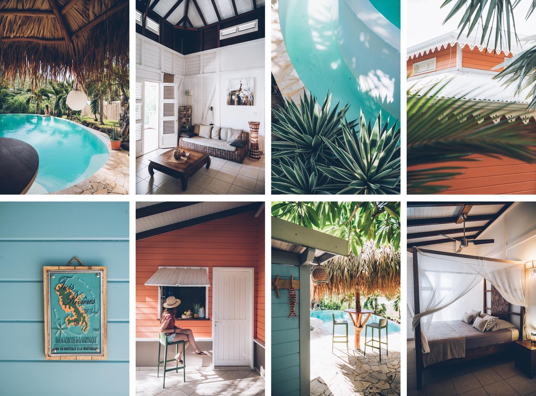 Tibibou, Belle maison à louer en Martinique