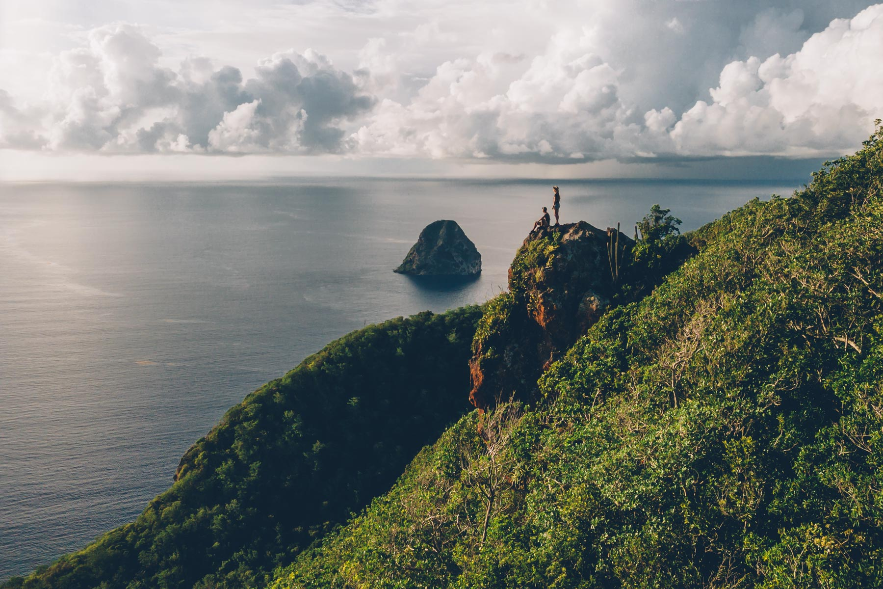 Rando du Morne Larcher, Martinique