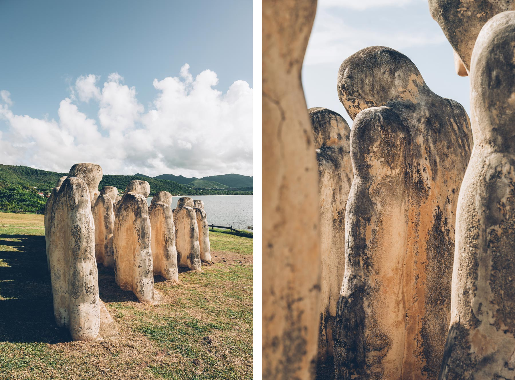 Mémorial du Cap 110, Martinique