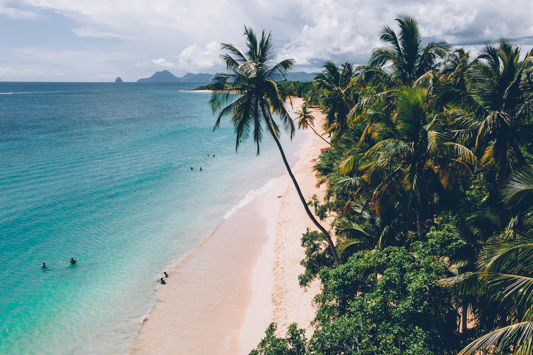 Plage Martinique Grande Anse des Salines