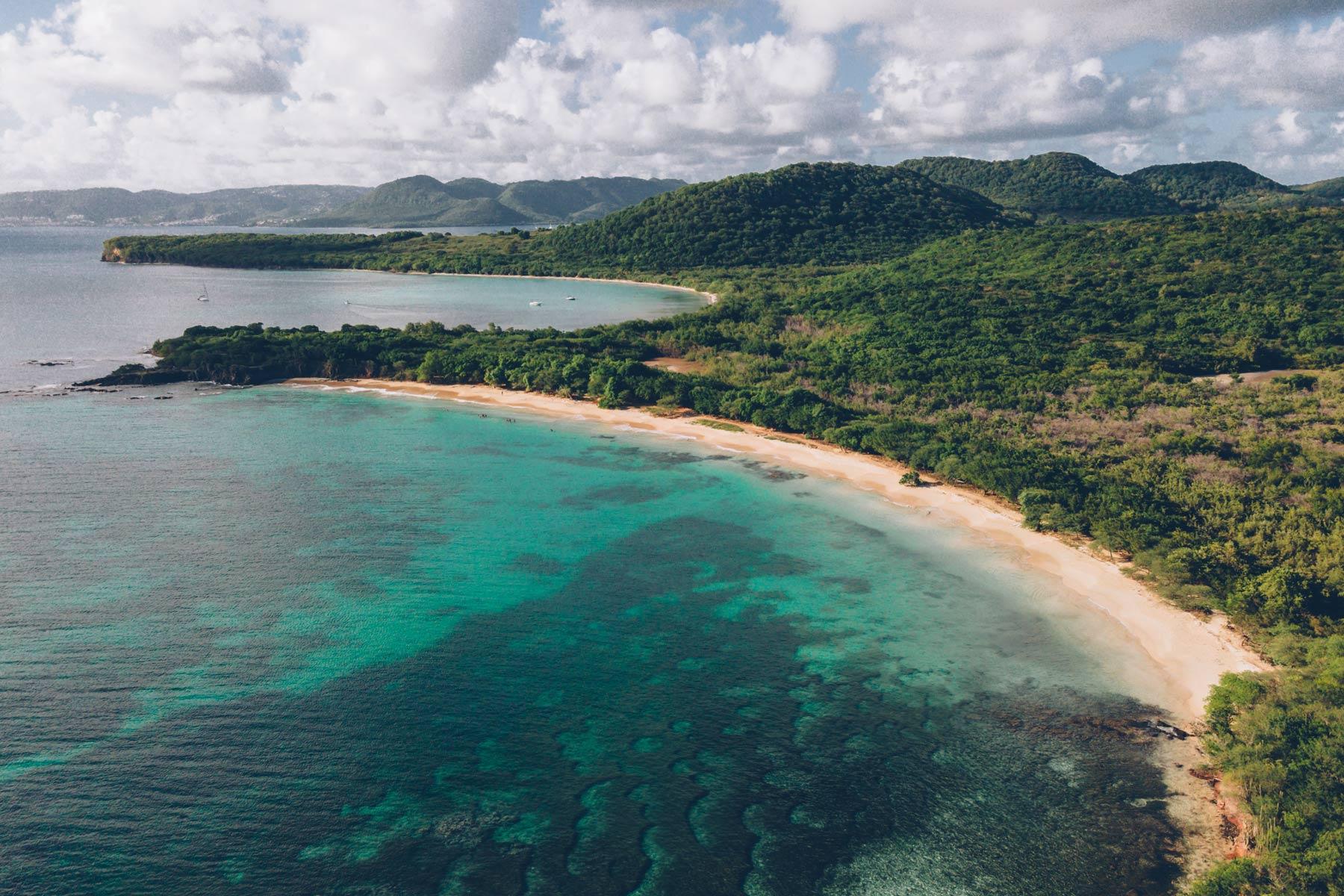 Petite Anse et Anse Moustique, Les Salines, Martinique