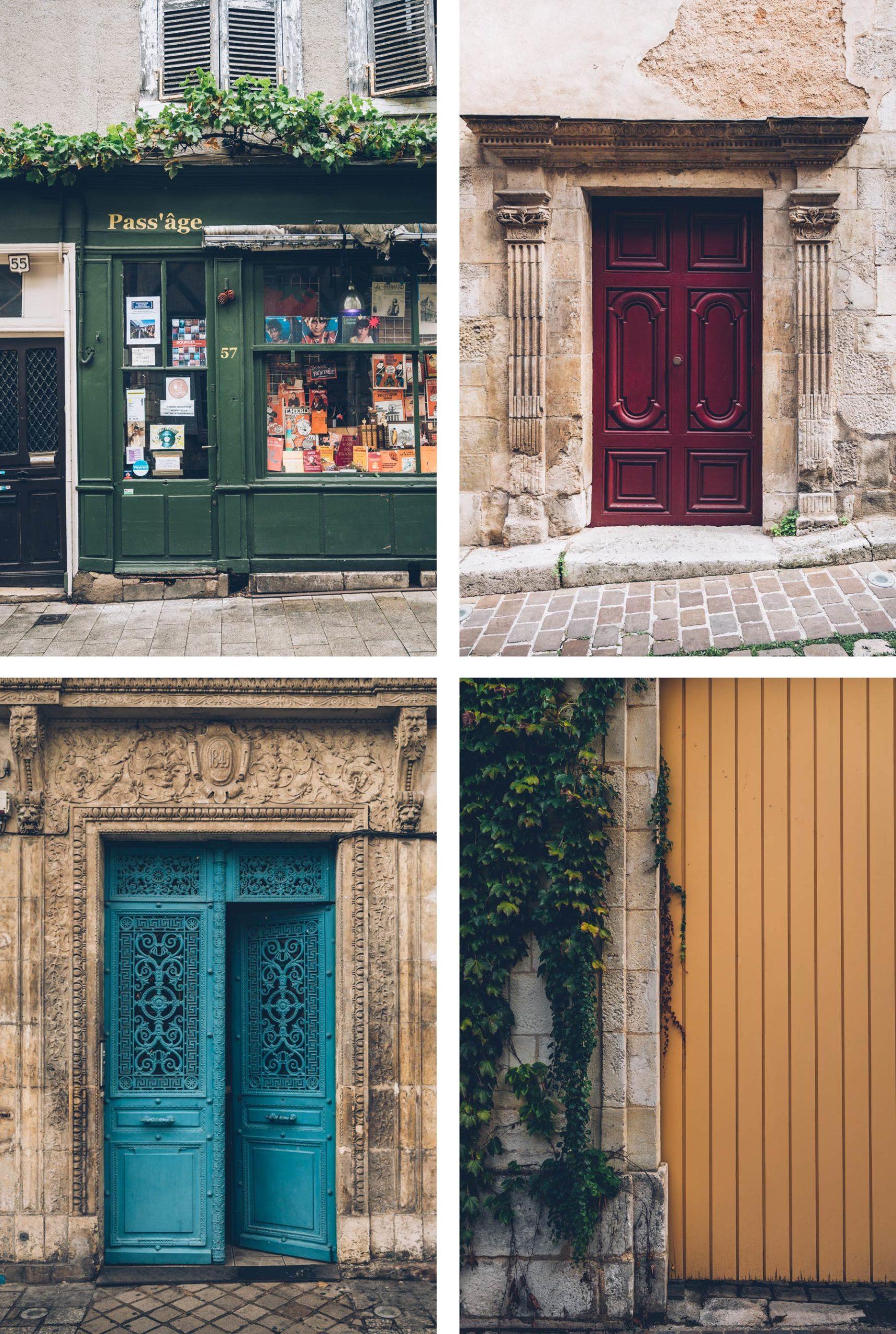 Façades, Bourges, Berry