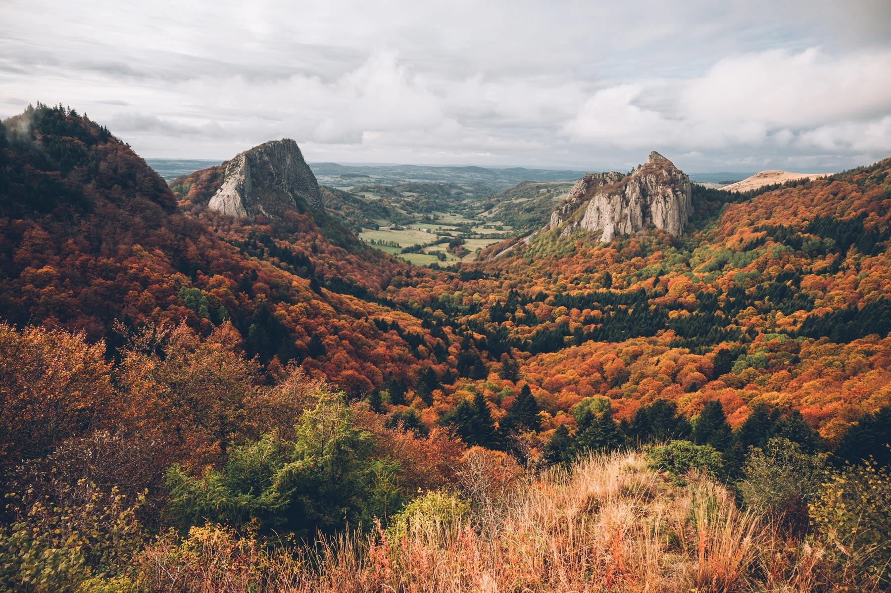Les roches Tuillière et Sanadoire