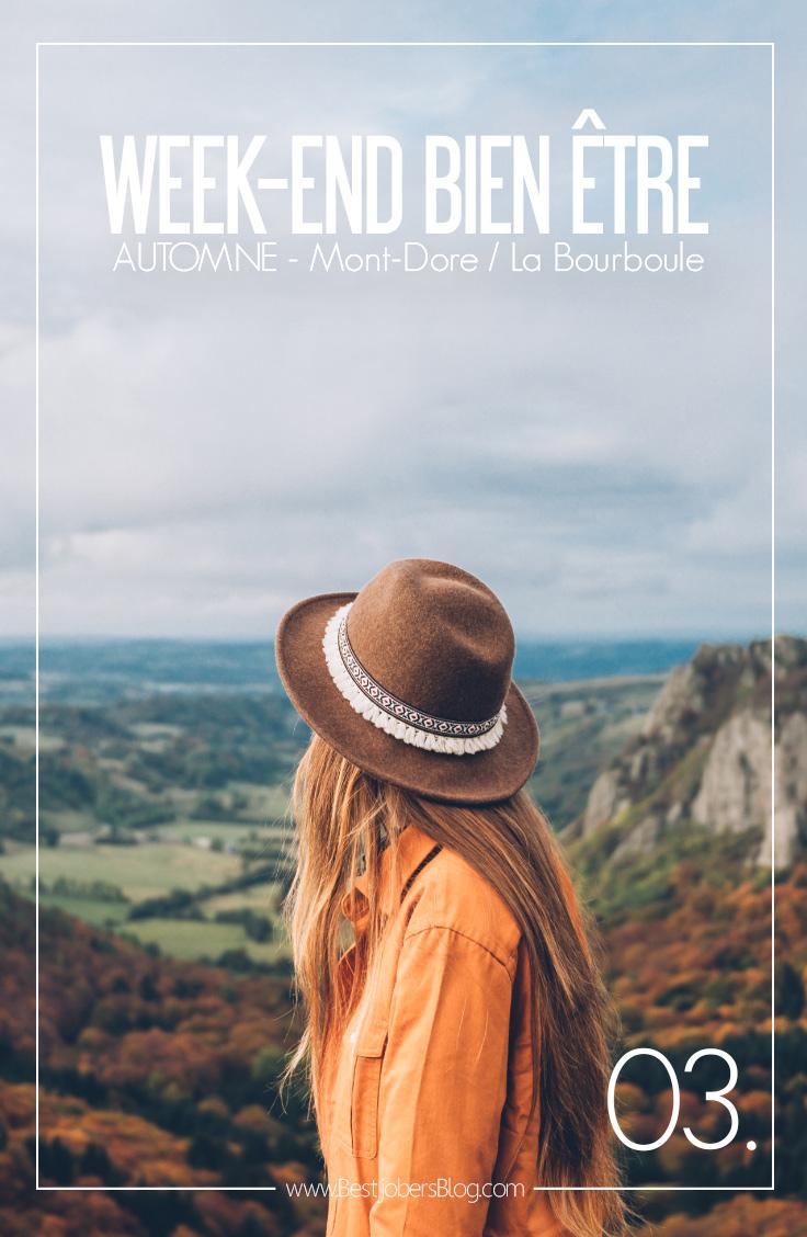 Weekend bienêtre en Auvergne
