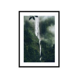 Tirage photo, Cascade Blanche, La Réunion