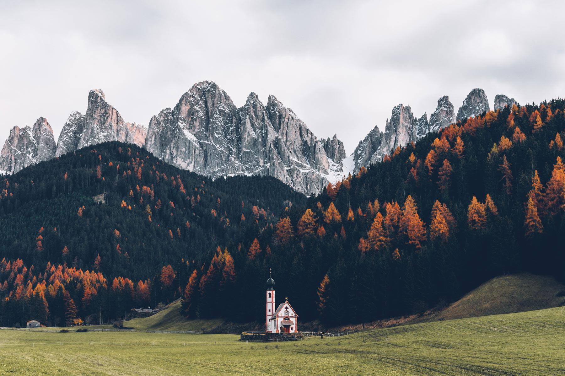 Eglise Dolomites, San Giovanni