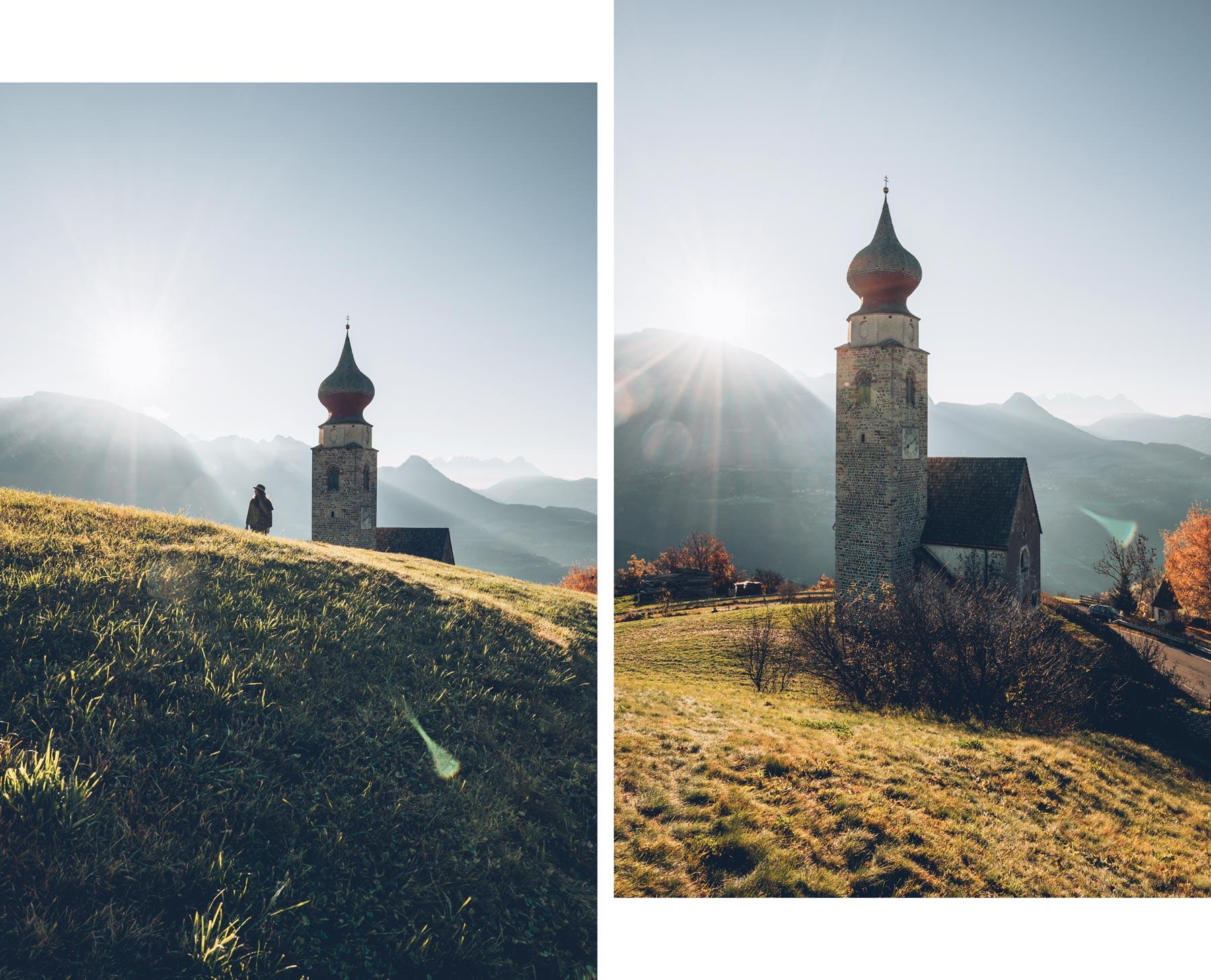 Eglise San Nicolo, Dolomites