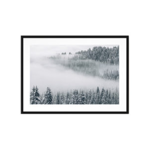 Tirage Photo, Brume Polaire, Avoriaz