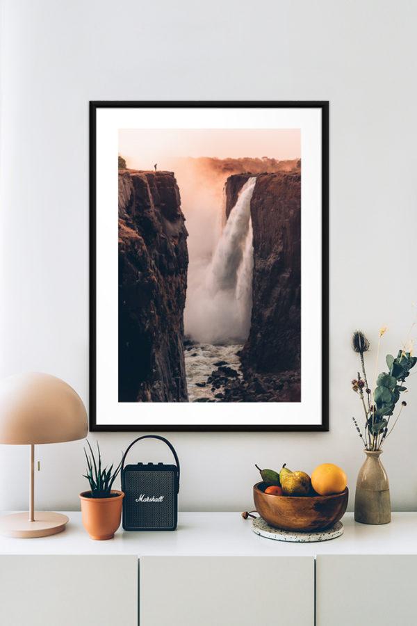 Tirage papier d'art, Victoria Falls
