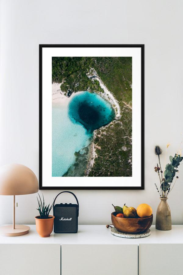 Tirage d'art, Blue Hole
