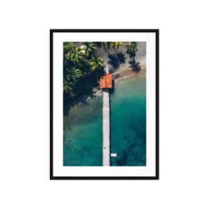 Tirage photo, Anse Noire
