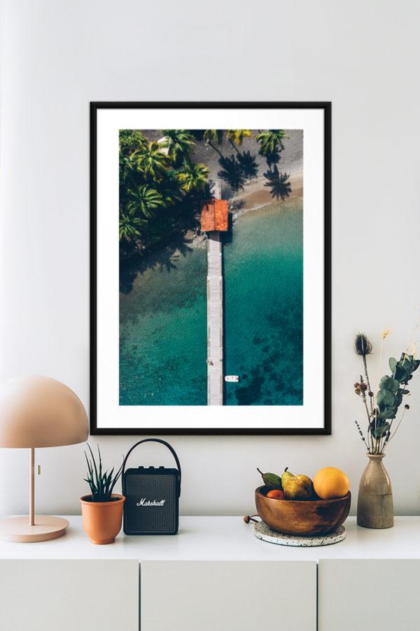 Tirage papier d'art, Martinique