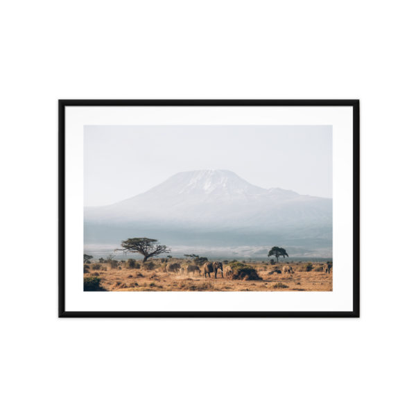 Tirage photo, Kilimandjaro