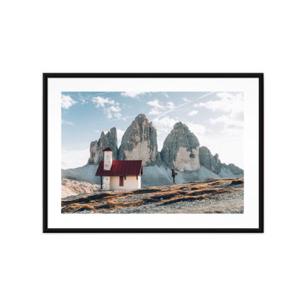 Tirage photo, Tre Cime Dolomites