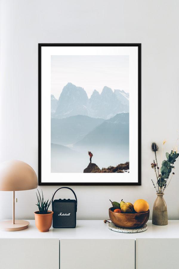 Tirage papier d'art, Dolomites