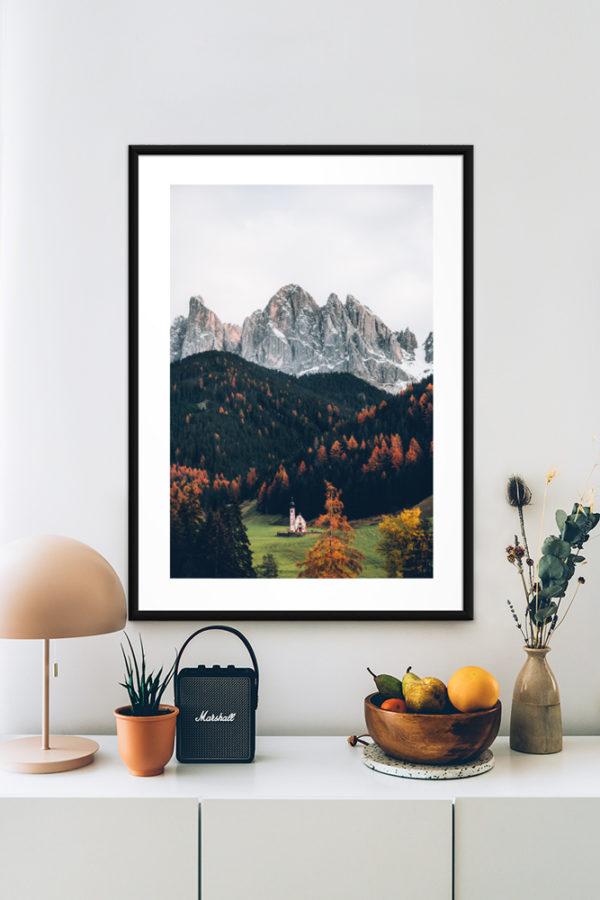 Tirage d'art, Dolomites