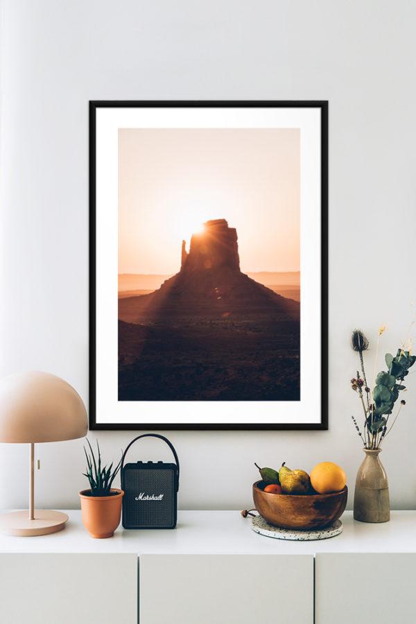 Tirage d'art, Monument Valley