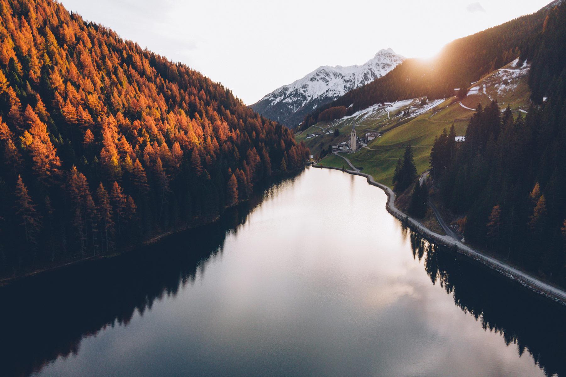 Lago di Valdurna, Val Sarentino, Dolomites
