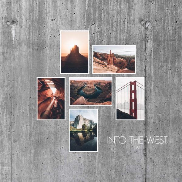 Cartes Into the West Usa