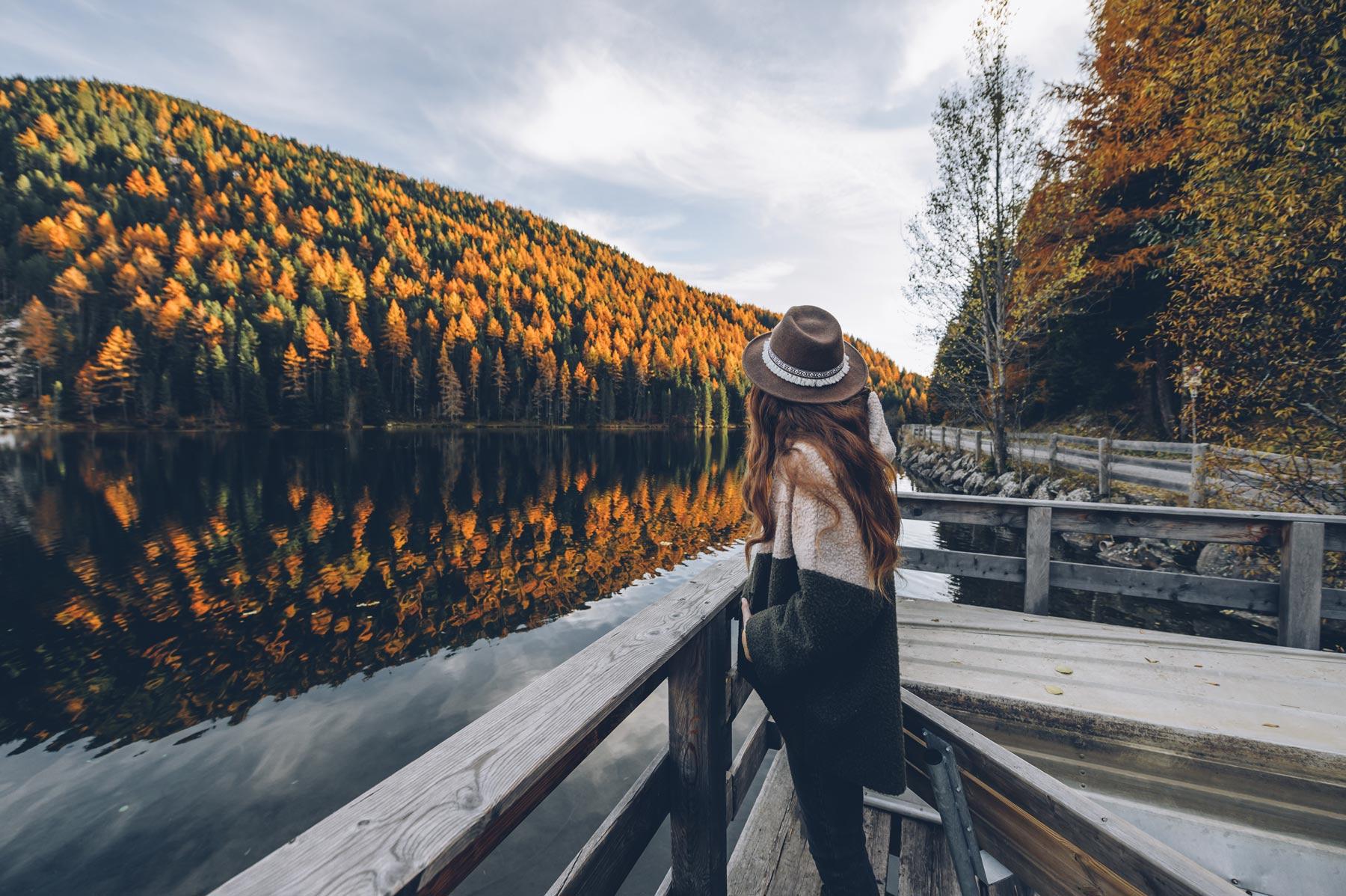 Lac Valdurna, Dolomites