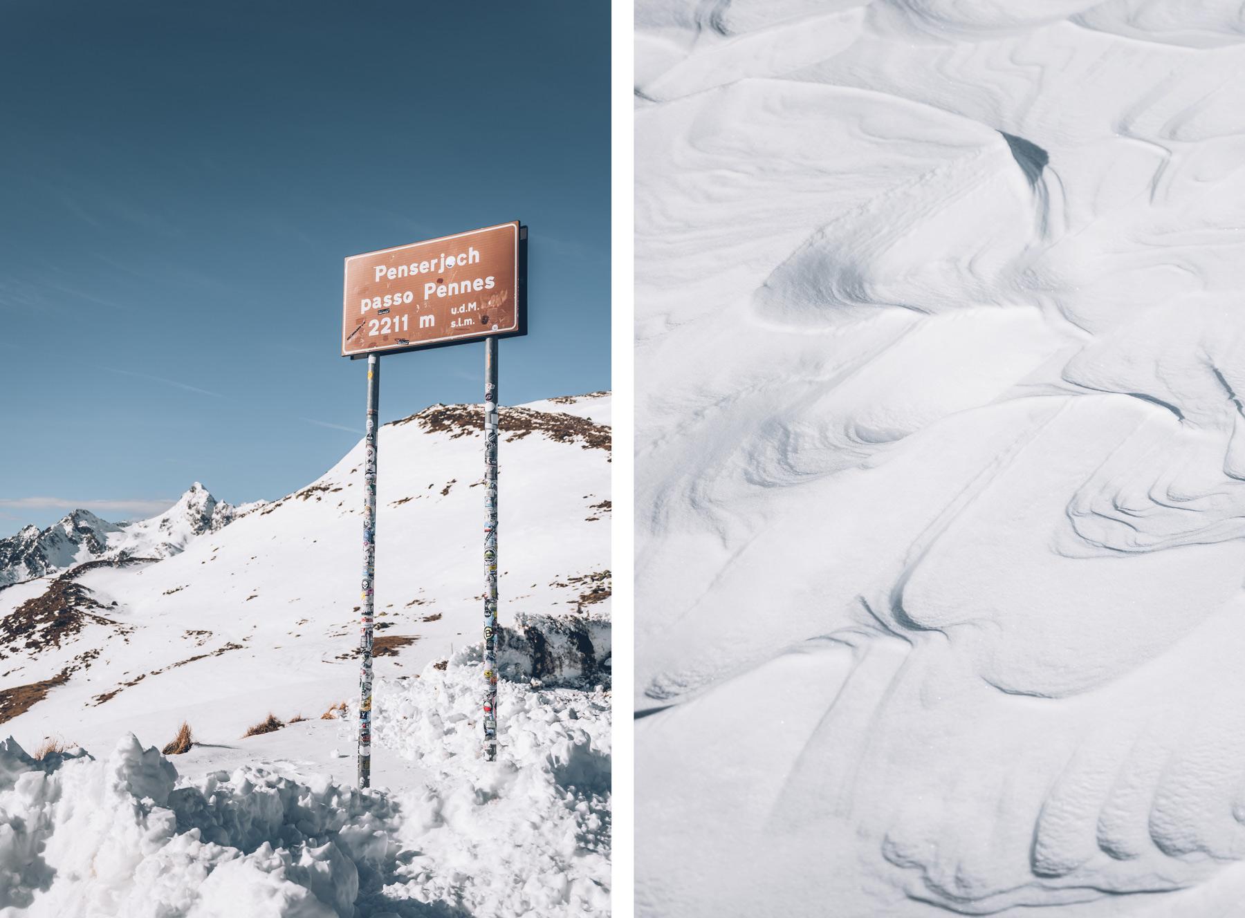 Passo Penne, Sud Tyrol