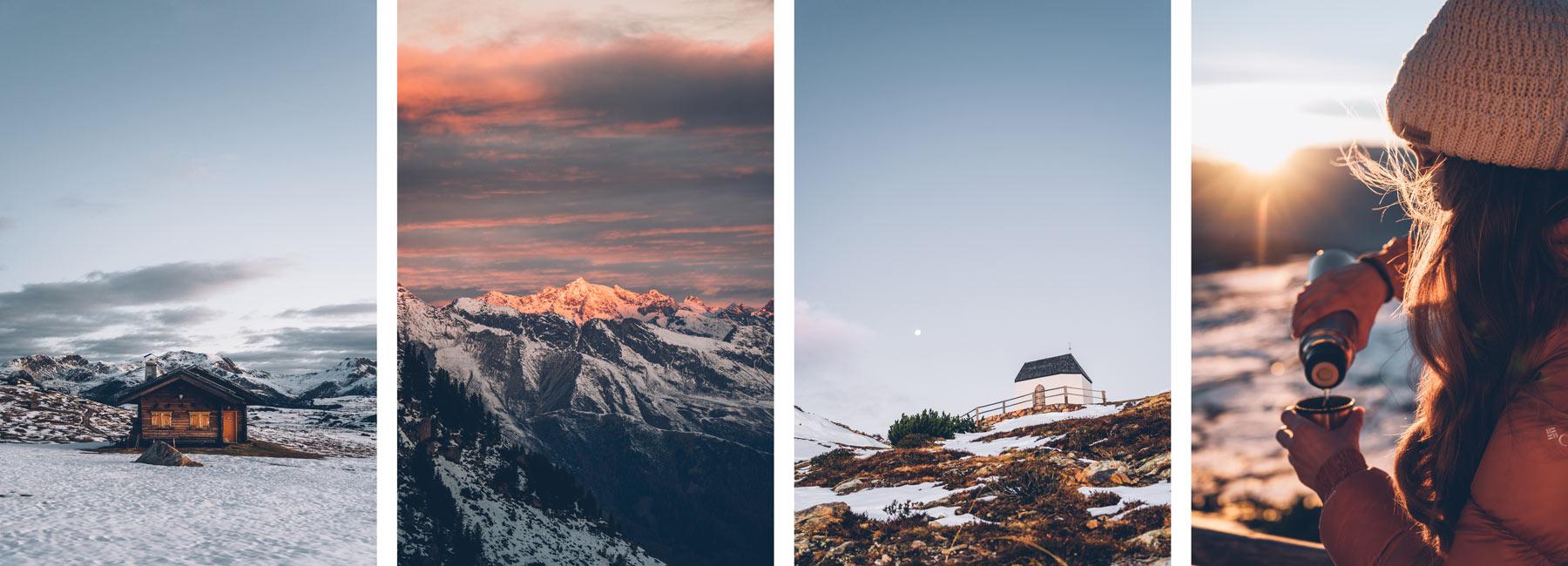 Randonnée à l'alpage Villanderer Alm