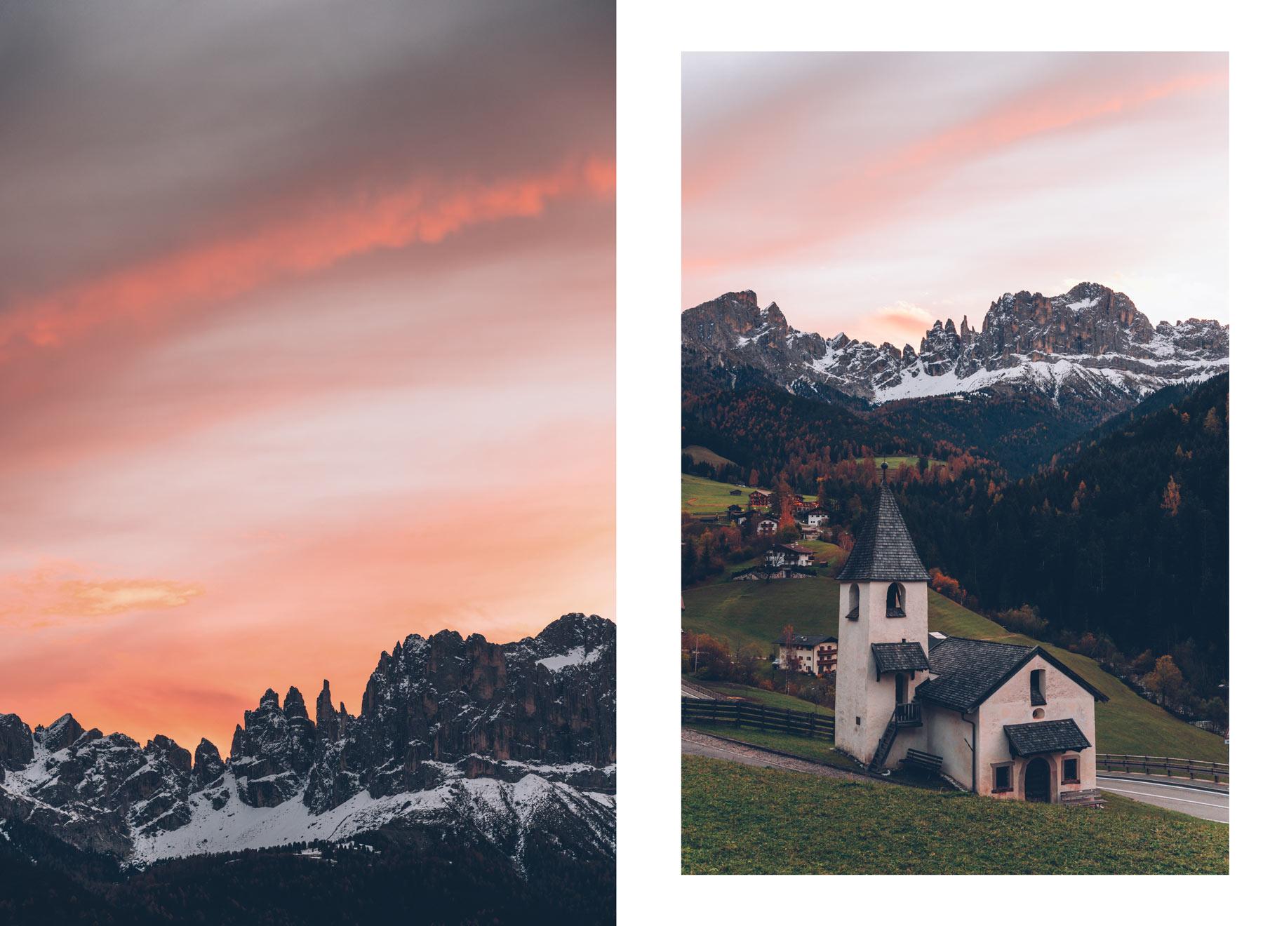 Eglise San Cipriano, Dolomites