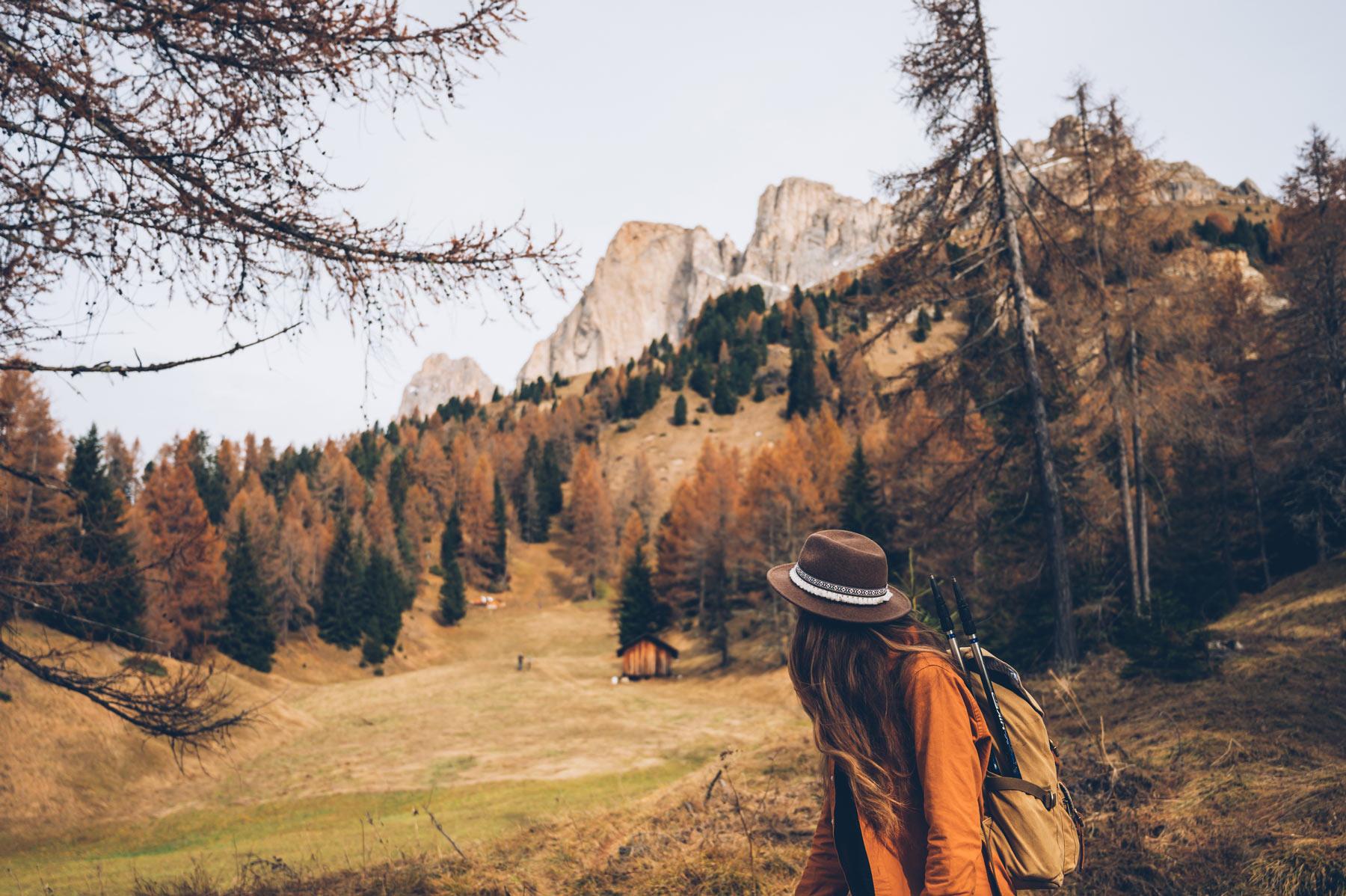 Randonnée dans le massif du Rosengarten