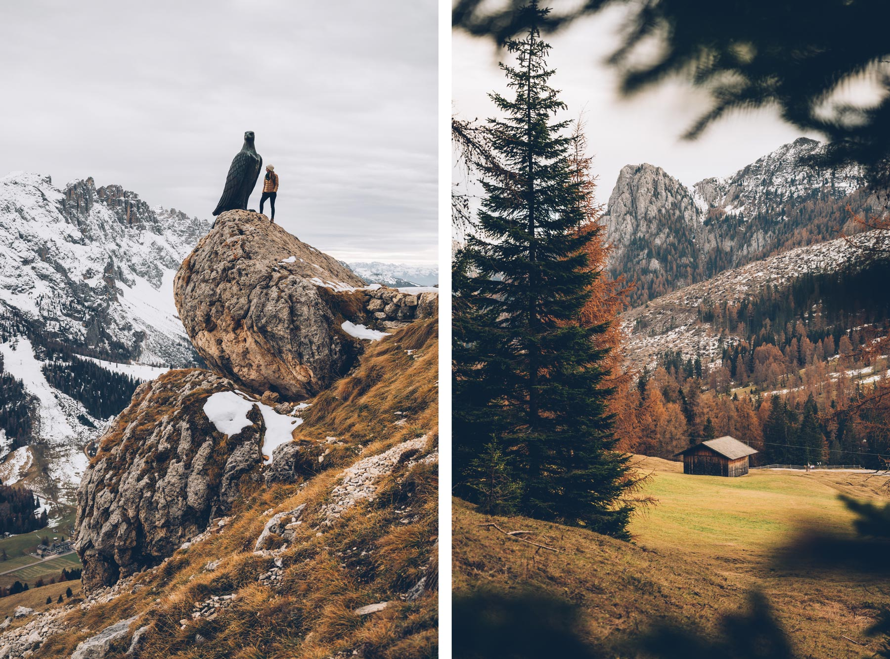 Randonnée dans le massif du Rosengarten, Sud Tyrol