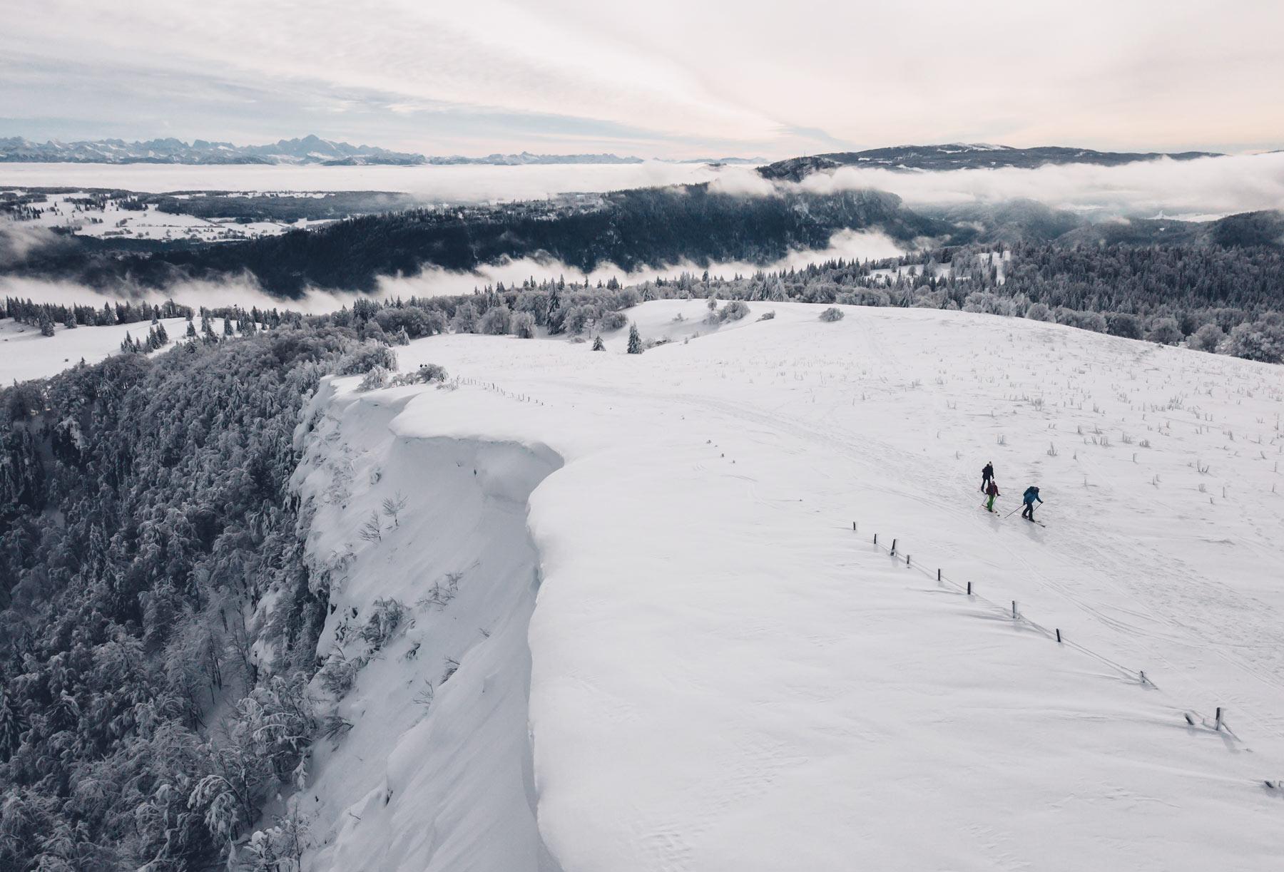 Ski de rando, Mont d'Or