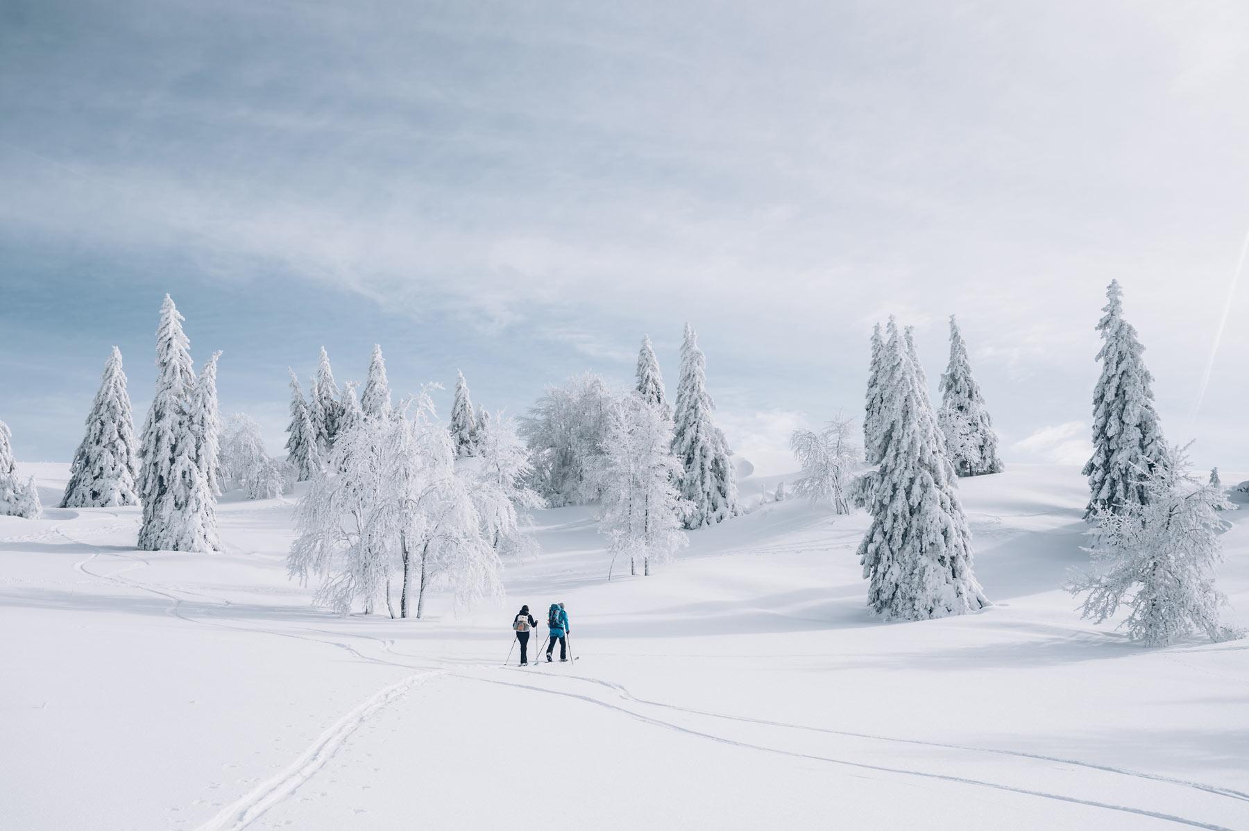 Ski de rando nordique, Metabief