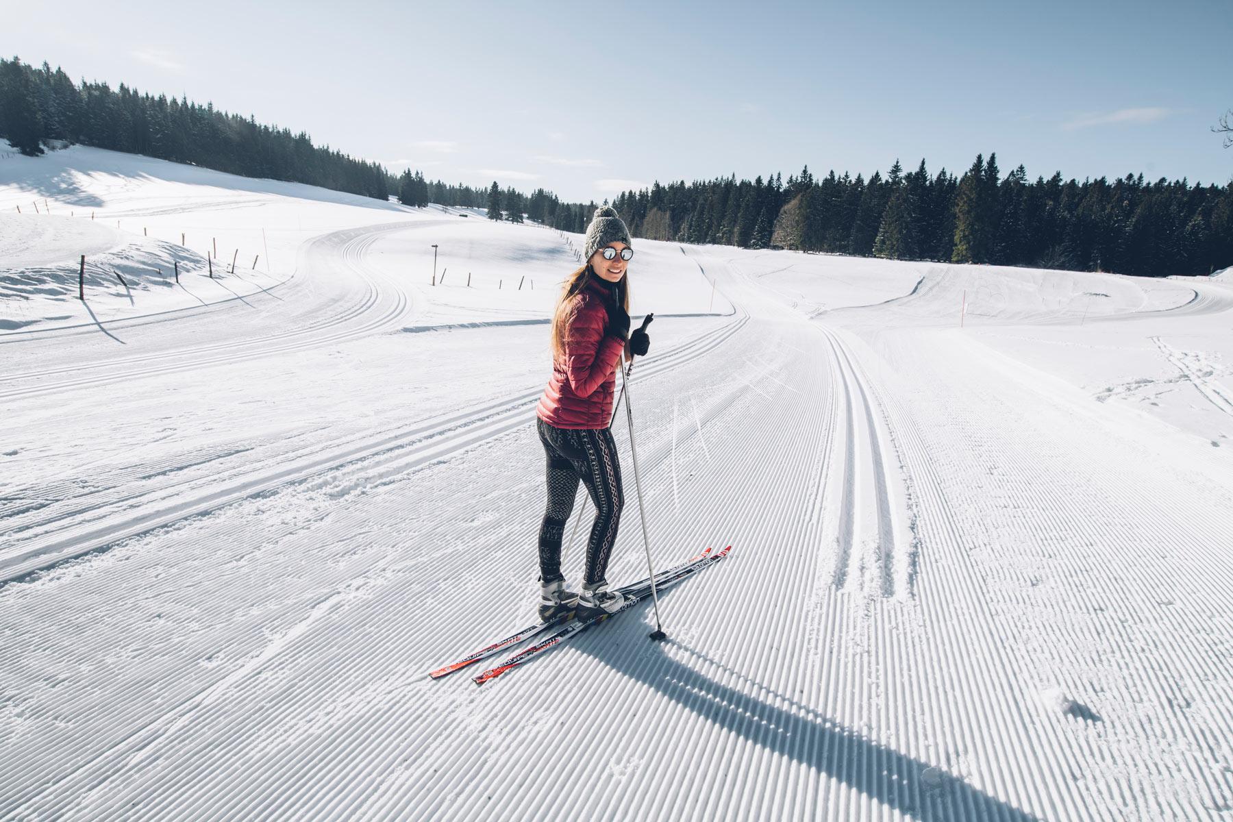 Ski de fond aux Granges Raguin