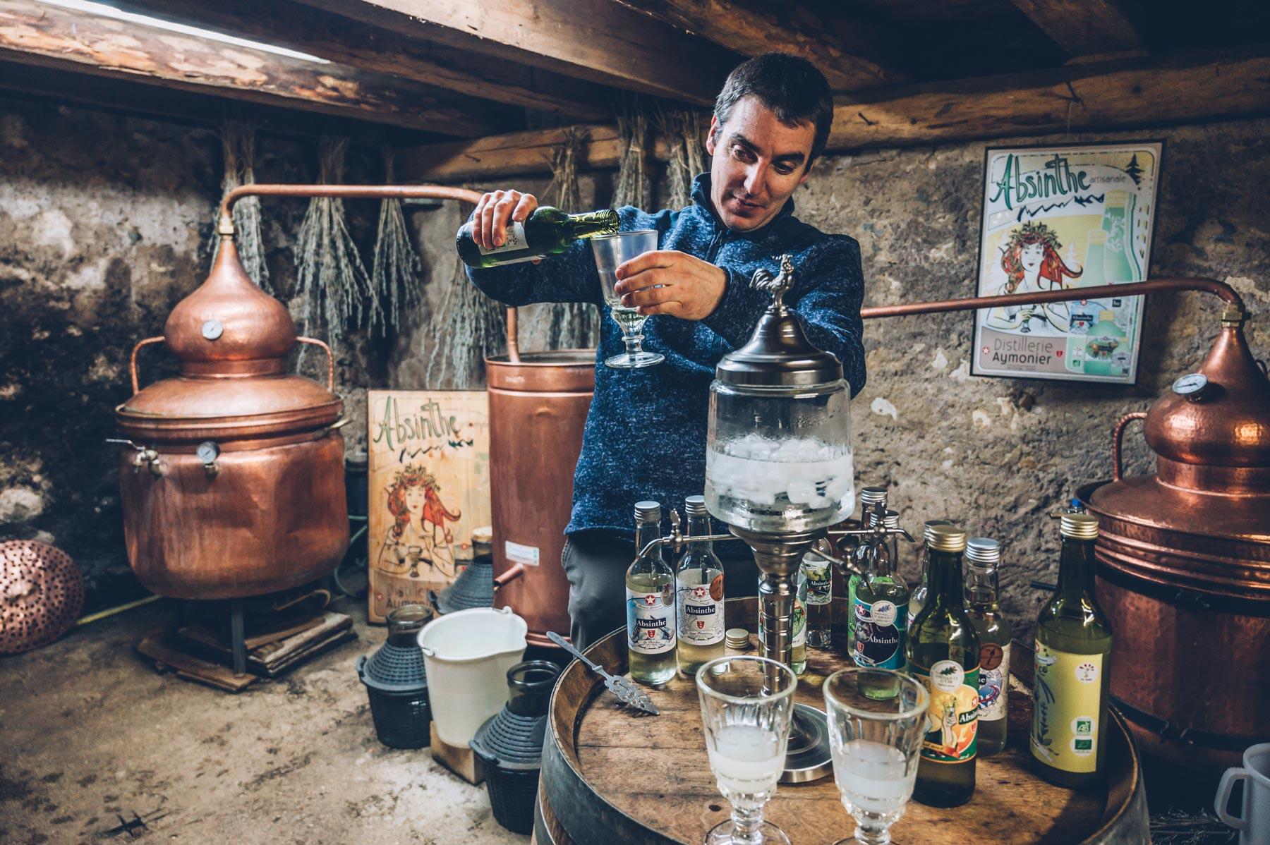 Distillerie artisanale Aymonier