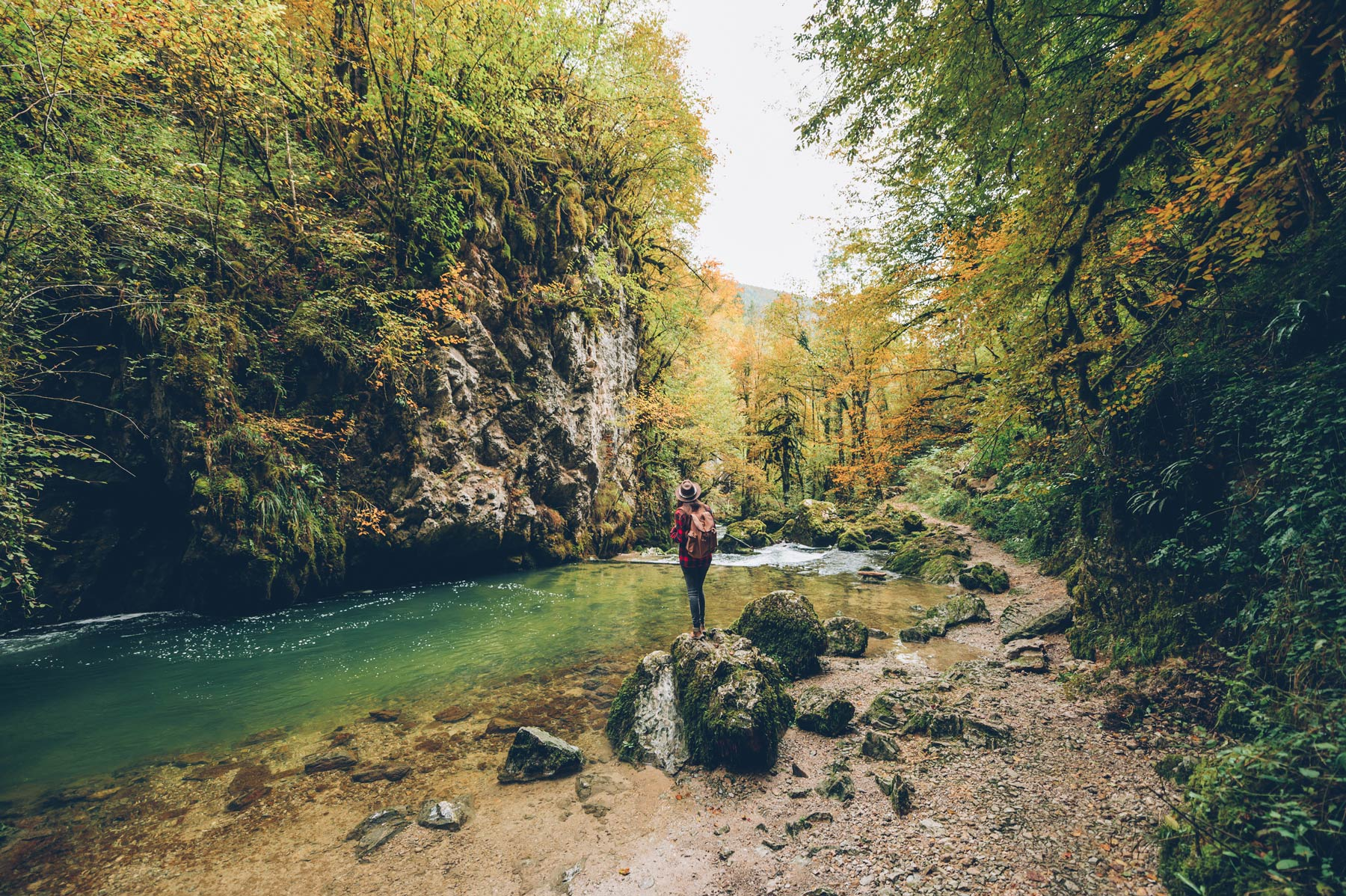 Gorges de l'Abime, Haut Jura, Saint Claude