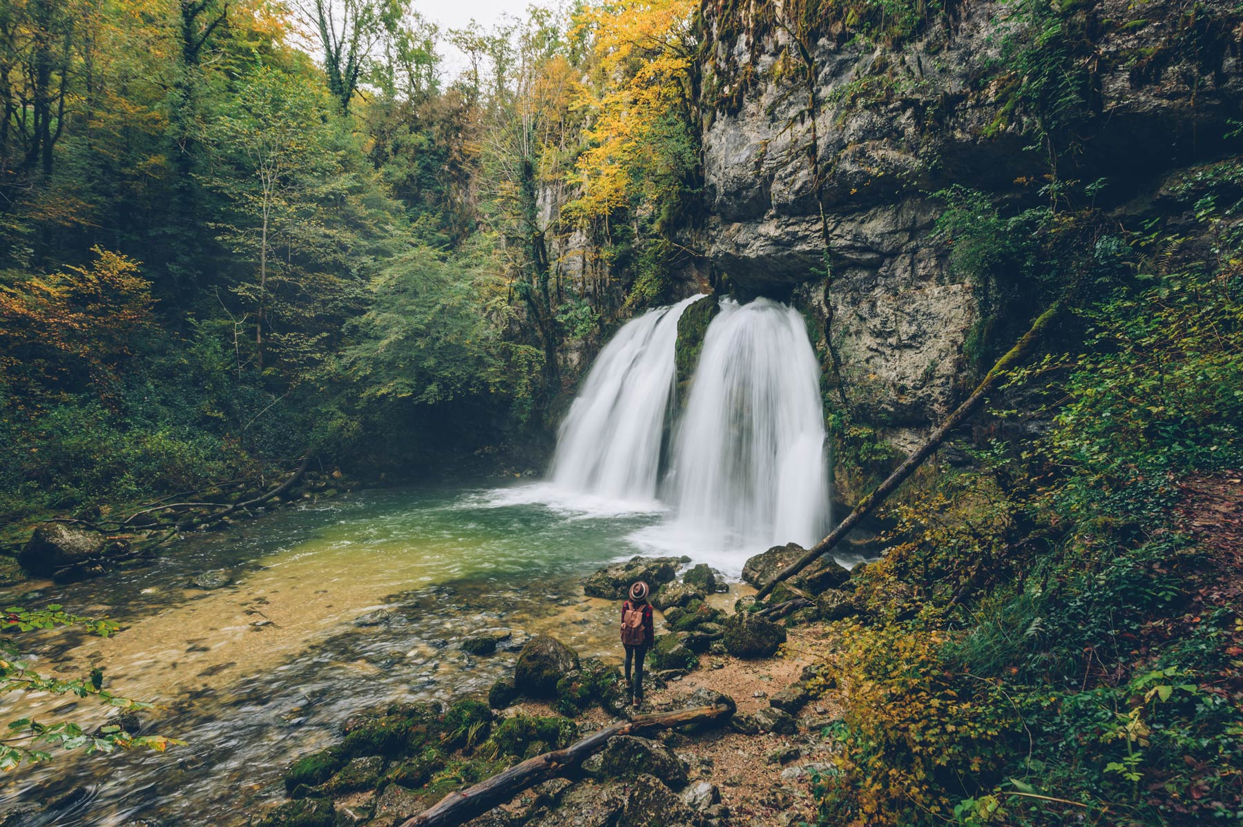 Cascade des Combes, Jura