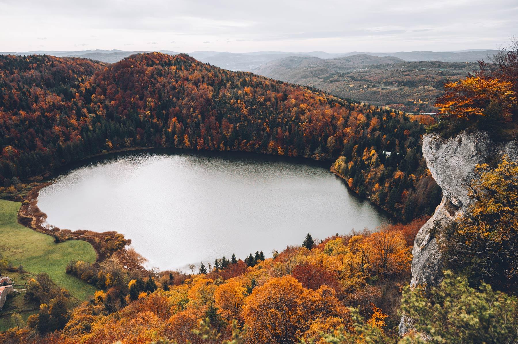 Lac d'Antres, Jura