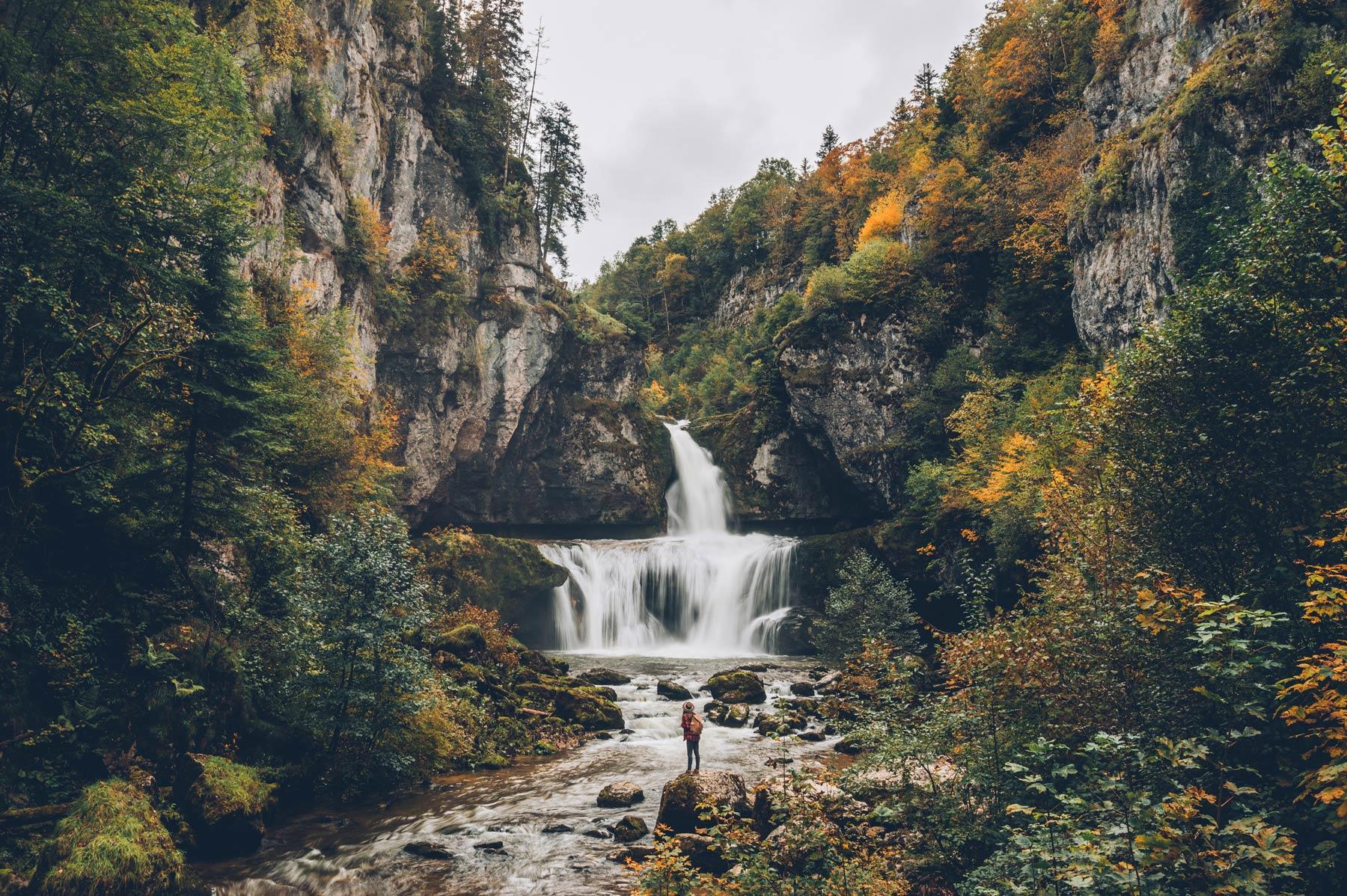 Cascade de la Billaude, Jura
