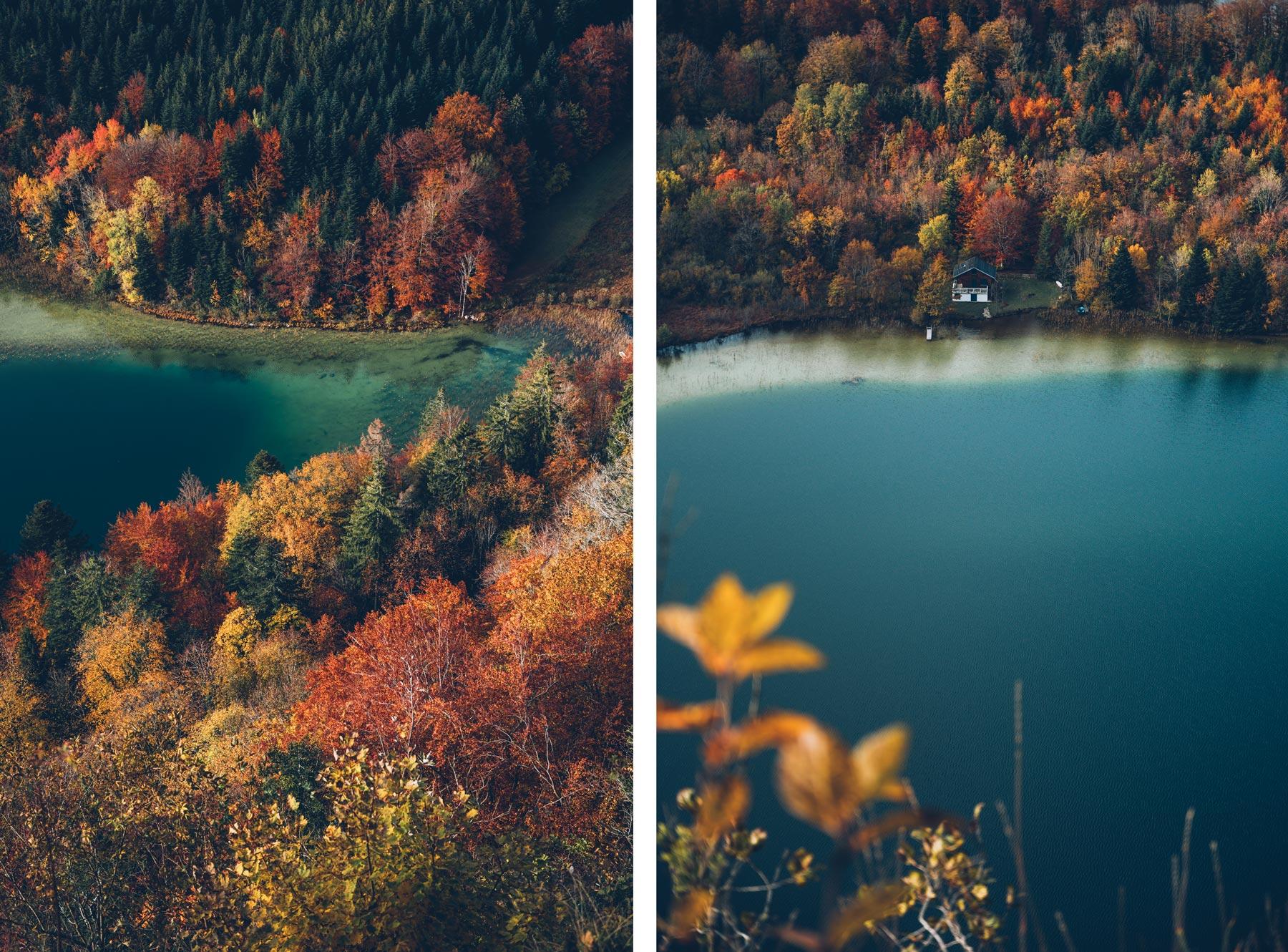 Vue sur les 4 lacs, Jura