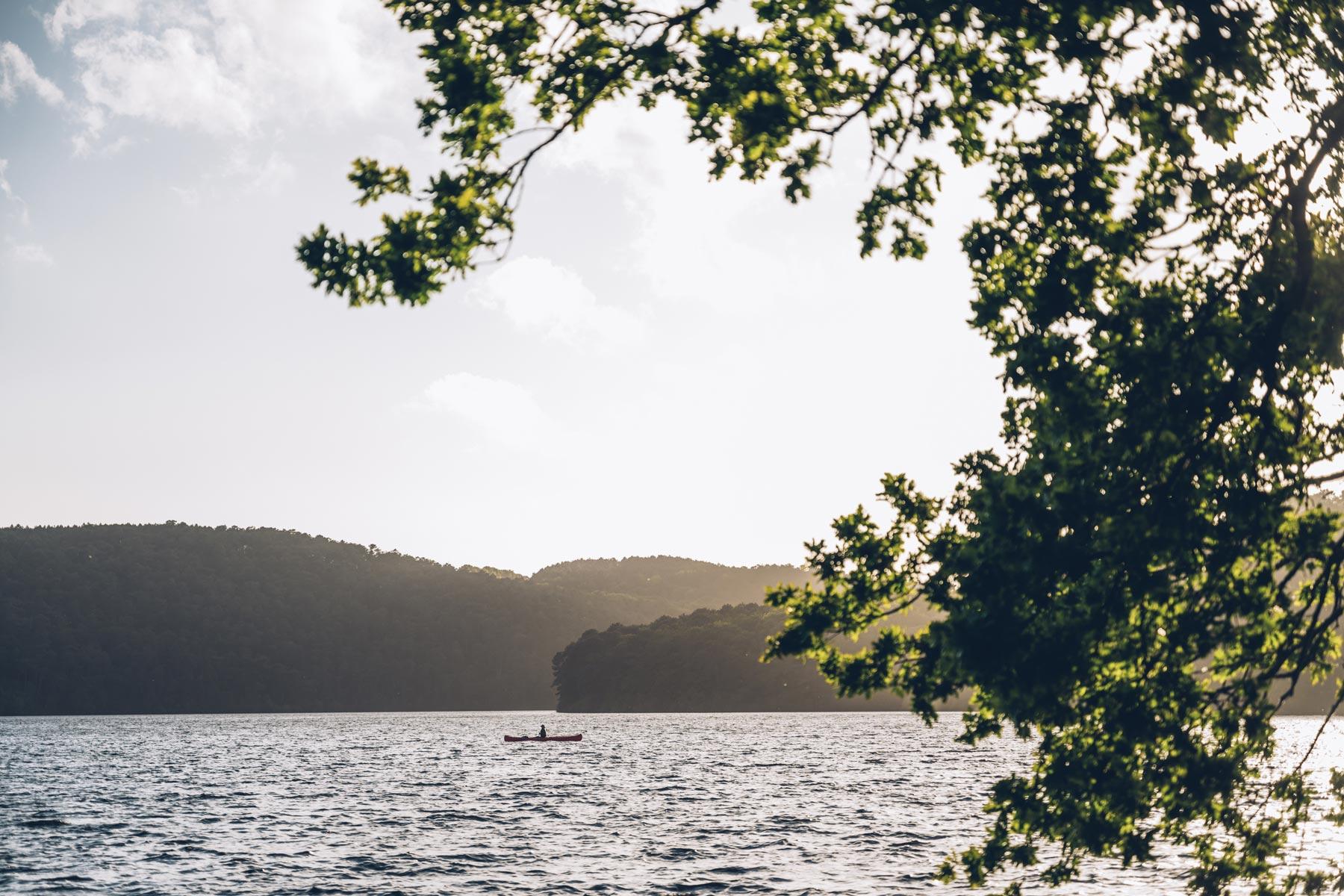 Coeur Bretagne, Lac de Guerledan