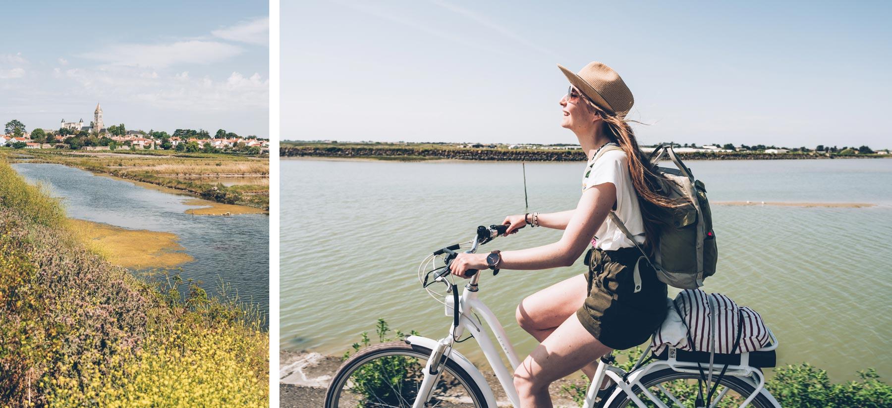 Vélo éléctrique à Noirmoutier