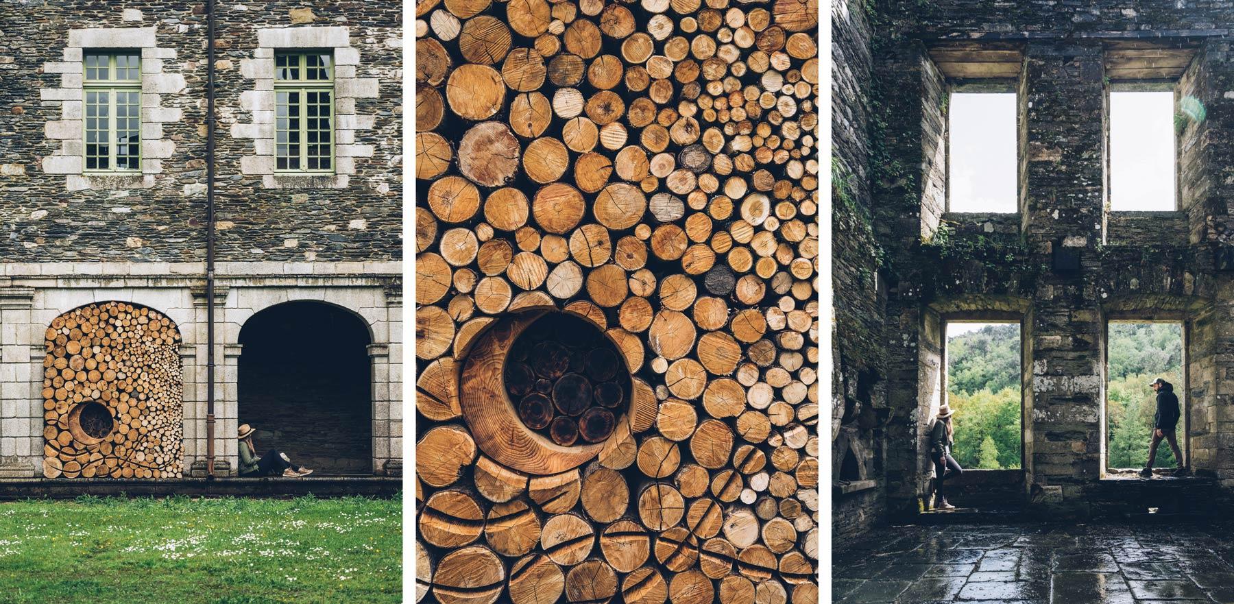 Abbaye de Bon Repos, Bretagne