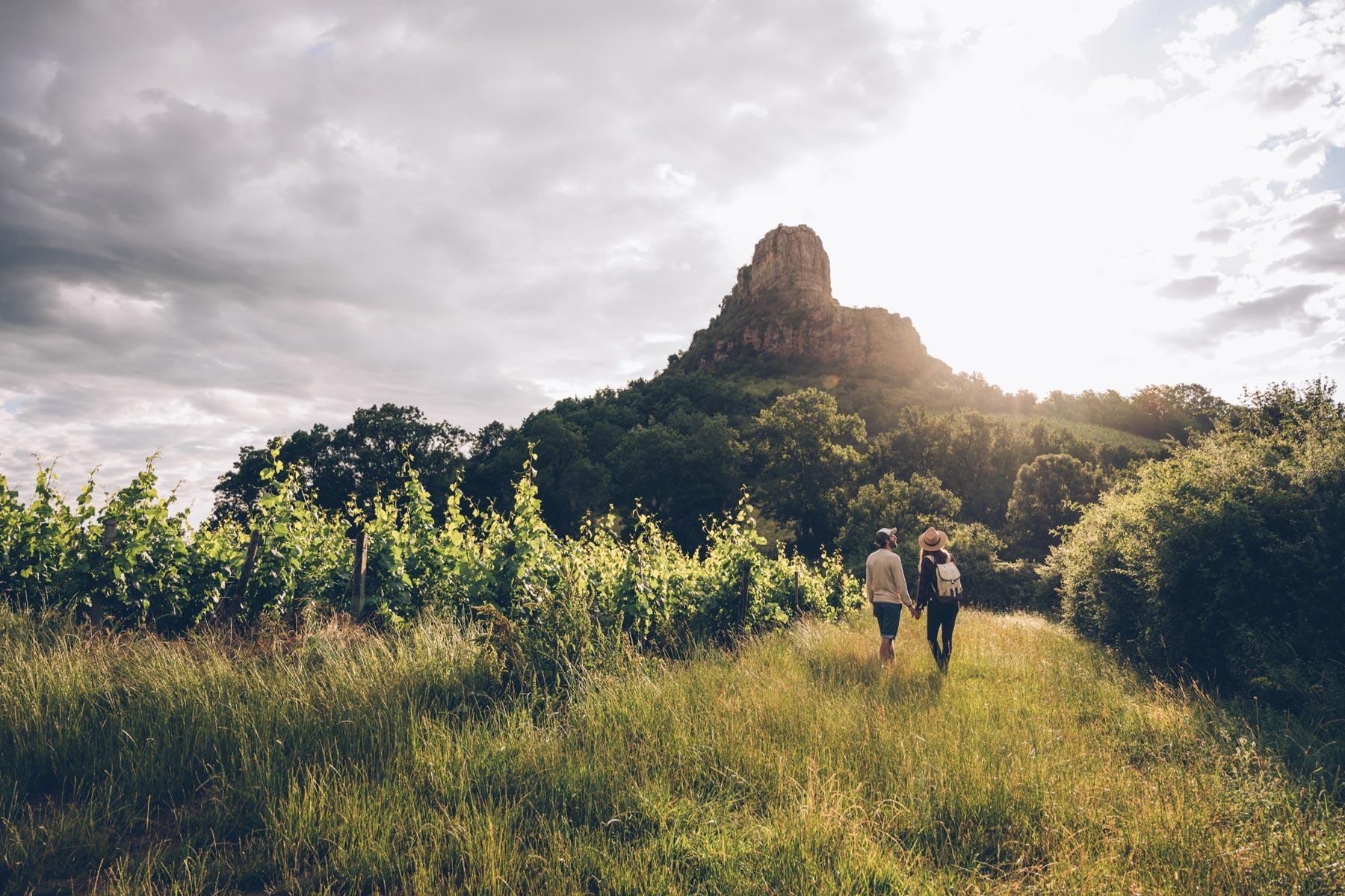 Roche de Solutré, Bourgogne du Sud
